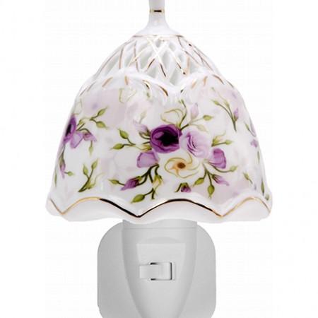 Nachtlampje-Paarse bloem