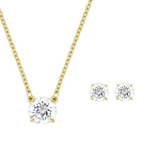 Attract Round Set-Swarovki