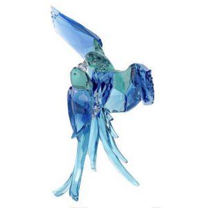 Blauwe papagaaien-Swarovki