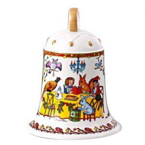 Christmas bell large - 35 jaar Hutschenreuther