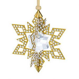 Swarovski-kerstster-goud