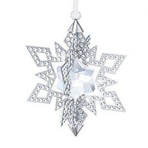 Swarovski-kerstster-zilver