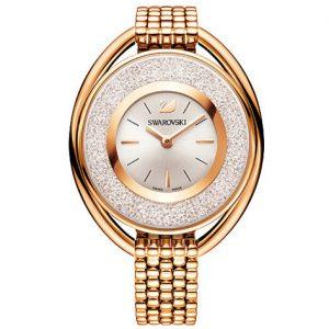 Crystalline Oval Rose Gold Horloge - 5200341