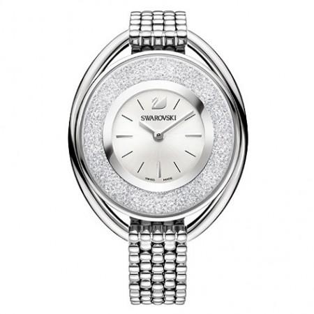 Crystalline Oval White Horloge - 5181008