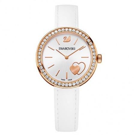 Daytime White Heart Horloge - 5179367