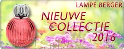 De nieuwe branders 2016 van Lampe Berger, nu te koop bij Au Goût Ecxlusif!