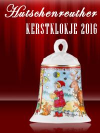 Het Hutschenreuther kerstklokje 2016 is een onvergetelijk ornament voor elke kerst!