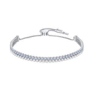 Subtle Bracelet Blauw en Zilver