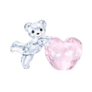 Kris beer - roze hart