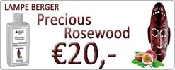 De nieuwe Lampe Berger Geur van de maand: Precious Rosewood