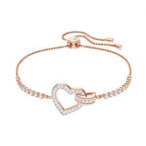 5368541 Lovely armband rose-zilver - Swarovski